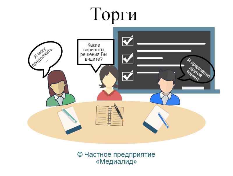 картинка иллюстрирует четвертую стадию процесса медиации по выработке конкретных предложения для решения спора